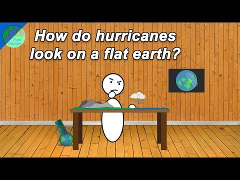 How do hurricanes look on a Flat Earth? thumbnail