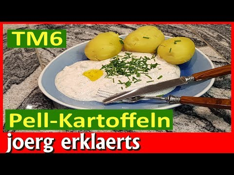 Pellkartoffeln Thermomix Kartoffeln im Gareinsatz lecker zubereiten TM6 / TM5 No. 277