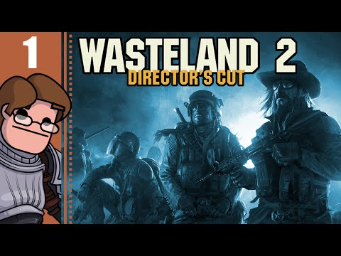 Let's Play Wasteland 2: Director's Cut Part 1 - Desert Range