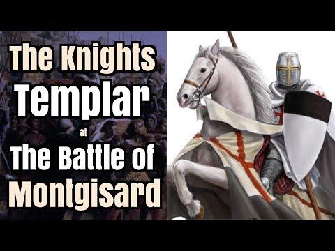 Knights Templar defeat Saladin - The Battle of Montgisard, 1177