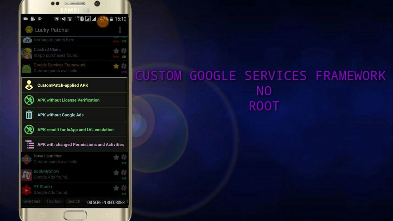 google service framework apk download