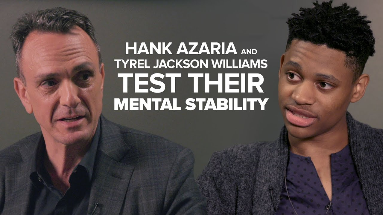 Hank Azaria And Tyrel Jackson Williams Test Their Mental Stability