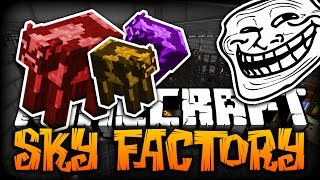 Minecraft: THE TWERKING COW TROLL | SkyFactory 2 W/ SSundee