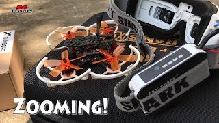 Learning to fly - Zooming in a Micro FPV