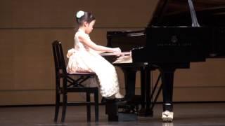 次女Hiyori(7)小1 かよわいタッチでハラハラ。。 発表会以外で、発表会...