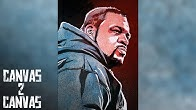 Bask in the Glory of Keith Lee WWE Canvas 2 Canvas