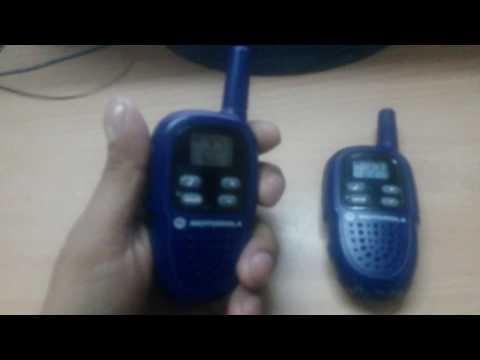 motorola fv300 two way radio walkie talkie review youtube Motorola Talkabout 2-Way Radios Motorola Walkie Talkie Radios Manual