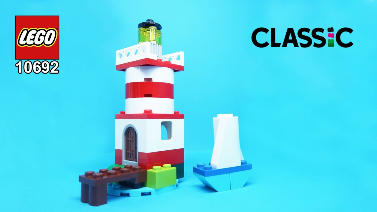 LEGO Classic 10692 Lighthouse Building Instructions