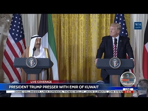 LIVE STREAM: President Donald Trump PRESS CONFERENCE LIVE with Emir of Kuwait 9/7/17