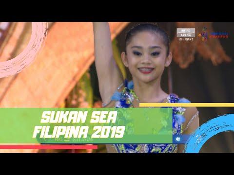 EMAS IZZAH AMZAN!   GIMRAMA - BOLA   SUKAN SEA 2019
