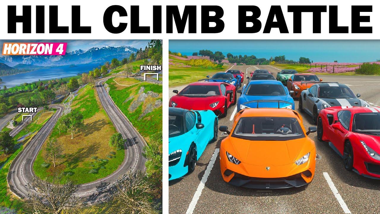 Forza Horizon 4 | Hill Climb Battle | Modern Supercars!!!
