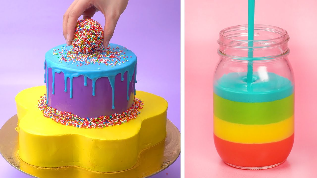 Tasty Colorful Cake Decorating Ideas | Coolest Birthday Cake Tutorials | Perfect Cake Compilation