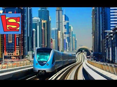 СУПЕР ПОЕЗДА ДУБАИ МЕТРО самый большой фонтан в мире САМОЕ ВЫСОКОЕ ЗДАНИЕ BURJ KHALIFA Dubai | Day#1