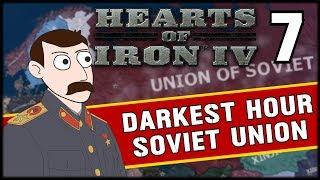 PUSHING BACK JAPAN! Hearts of Iron 4 Darkest Hour Soviet Union Campaign Part 7