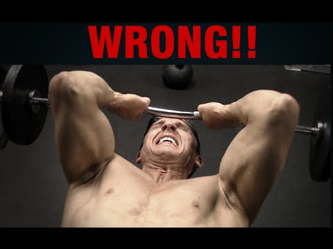 How NOT to Get Big Triceps (SKULLCRUSHERS!!)
