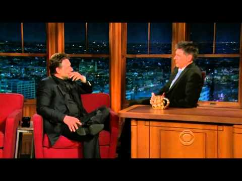 Late Late Show with Craig Ferguson 5/10/2010 Russell Crowe, Wilco