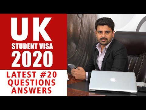 UK STUDENT VISA RULES 2020 | Students QnA & Updates | Study In UK | Study Abroad | Indian Students