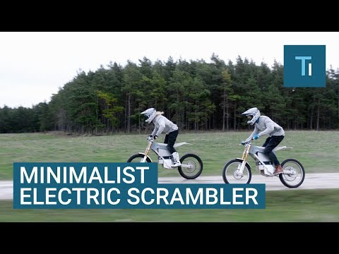These Minimalist Electric Bikes Can Travel 50 Miles On A Full Charge