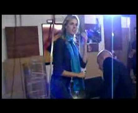 Bad Day behind the scenes with Sarah Harding