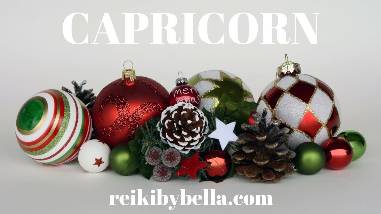 CAPRICORN**XMAS LOVE HEALTH & MONEY MESSAGES**LOVE BELLA K Till Dec ...