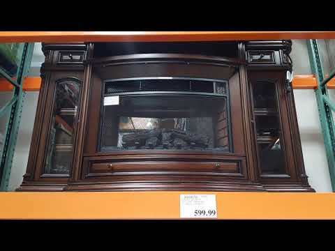 Costco Well Universal Wood Electric Fireplace $599