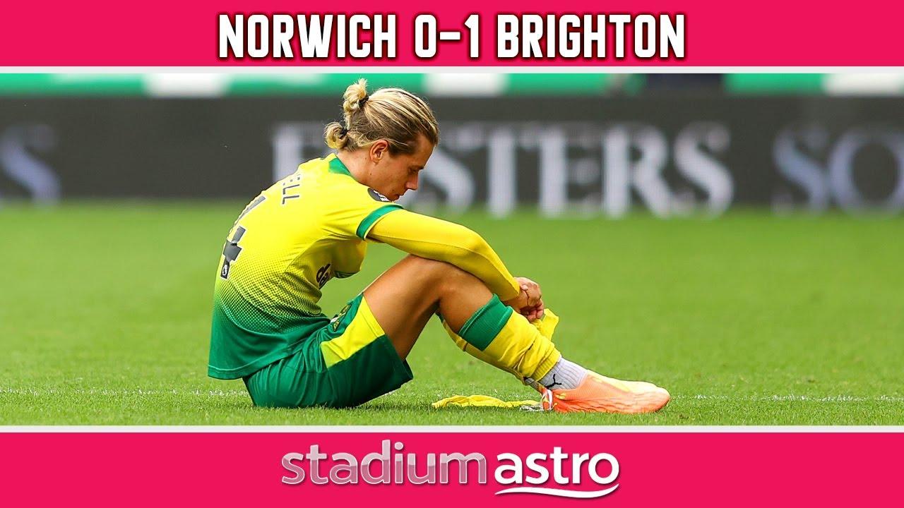 Norwich 0 - 1 Brighton | EPL Highlights | Astro SuperSport