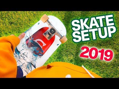 MY NEW 2019 SKATEBOARD SETUP!
