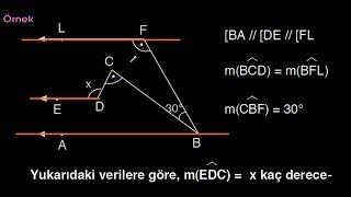 Doğruda Açılar-2  Paralel Doğrular  Geometri  Metin Hocam