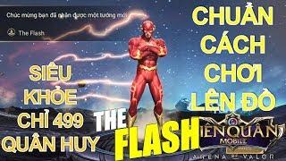 Tướng mới ra mắt: The Flash - Sát thủ phép mới ảo diệu như Murad - Cách chơi và lên đồ chuẩn