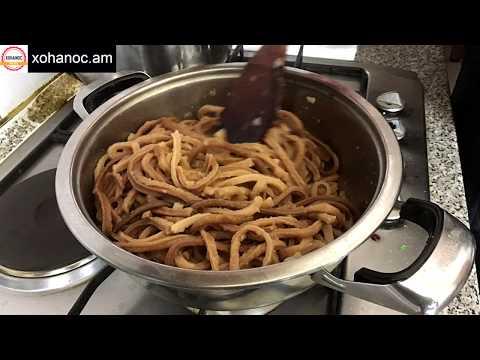 Արիշտա, սա արիշտա պատրաստելու ամենահամեղ տարբերակներից մեկն է  Лапша  Noodle  Xohanoc.am