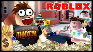 GETTING RICH QUICK IN ROBLOX!! | Roblox Cash Grab Simulatore
