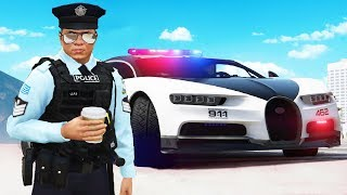 Pulling People Over As A Fake Cop.. (GTA RP)