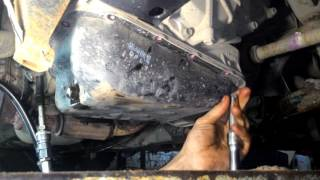 Замена масла в АКПП автомобиля Hyundai Getz