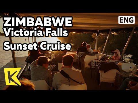 【K】Zimbabwe Travel-Victoria Falls[짐바브웨 여행-빅토리아폴스]선셋 크루즈의 묘미/Sunset/Cruise/Zambezi River