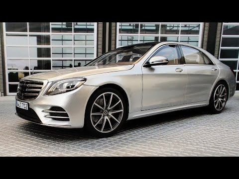 Mercedes Benz S Class AMG | 1/18 Norev | Diecast Modelcar | Walkaround |Review