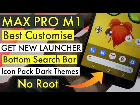 Asus ZenFone Max Pro M1- Get New Launcher, Best Customise Max Pro M1, No Root