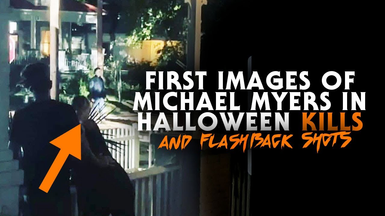 Halloween 2020 Stills First On Set Images of Michael Myers in Halloween Kills (2020