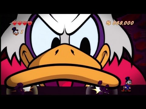 DuckTales Remastered - All Bosses [No Damage]