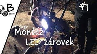 Babetta 210 - Montáž LED světla   1. díl