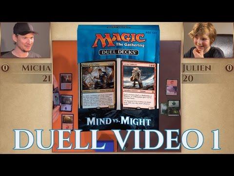 Play Duel Decks Might VS Mind deutsch Match 1 traderonlinevideo Magic Trader