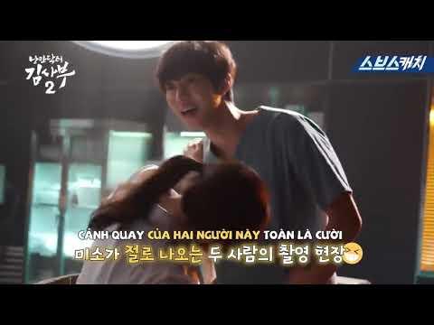"""[VIETSUB] Dr Romantic 2 - Behind the scence ~ Cảnh """"Reset"""" ngọt ngào và cảnh tai nạn xe của Kim Sabu   Thông tin phim lẻ chiếu rạp 1"""