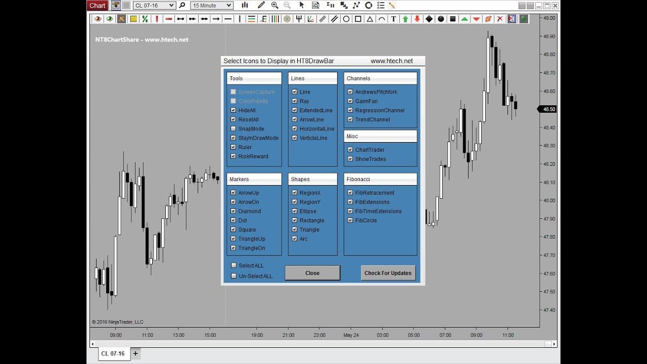 Draw Bar Plus   ToolBar   Drawing Tool   Technical Analysis   NinjaTrader 8    Indicator