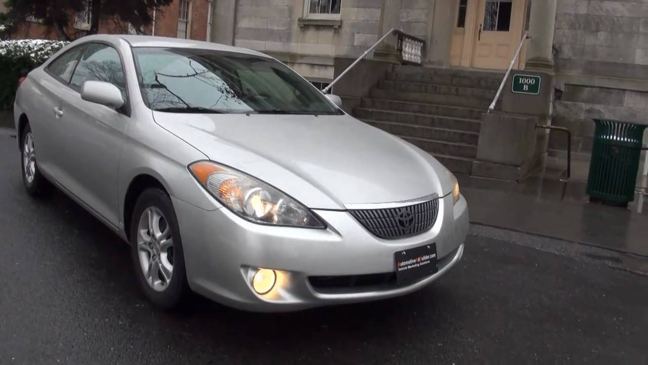 2005 Toyota Solara 2 4 Se Coupe Youtube
