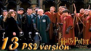 Гарри Поттер и Тайная Комната прохождение PS2-версия #13 Авифорс и квиддич против Пуффендуй