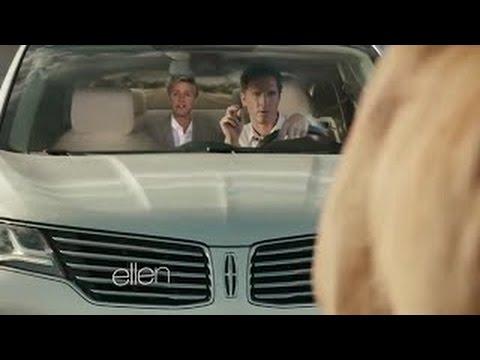 Matthew McConaughey's Lincoln Commercial On Ellen