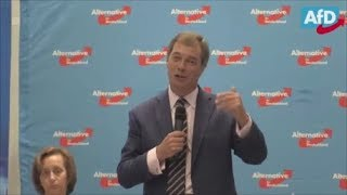 Nigel Farage Q&A in Germany