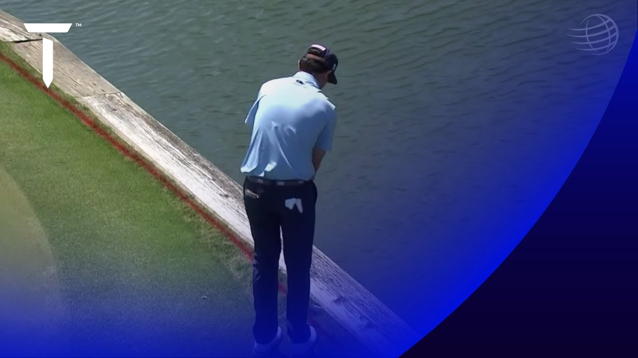 Two players putt into the water! | 2021 WGC-Dell Match Play