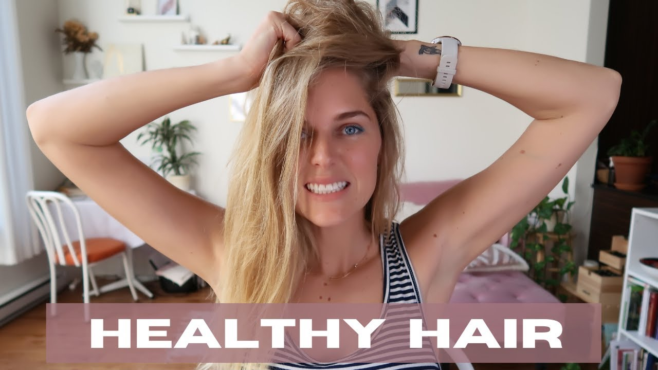 How to STOP My Hair From Falling Out and Thinning - YouTube