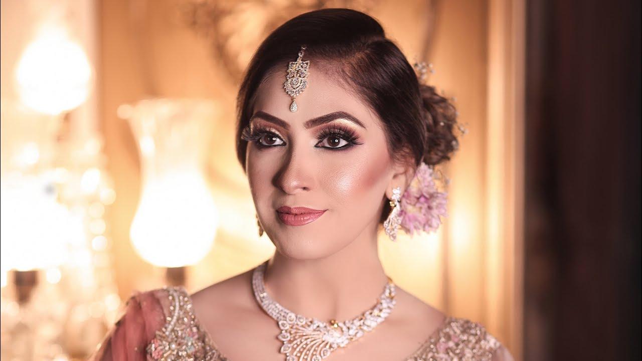 Walima bridal makeup tutorial | Blending liner | farah's beauty salon