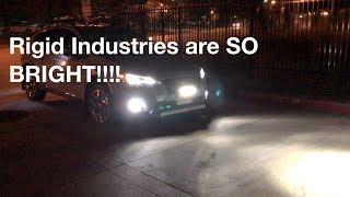 Rigid Industries LEDs on 2018 Crosstrek